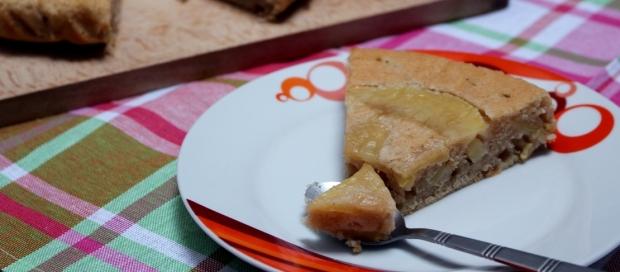 gâteau aux pommes en-tête